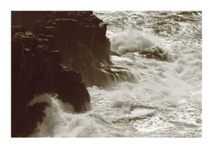 Crashing Waves Against Cliffs in Cornwall - 01