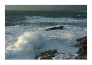 Storm at Trebarwith Strand