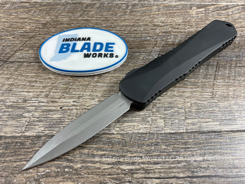 Heretic Knives Manticore E Double Edge Battleworn H028-5A OTF Auto USA