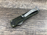 Heretic Knives Manticore S Stonewashed Tanto Breakthrough Green H024-2A-BRKGR OTF Automatic USA