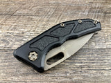 Heretic Knives Medusa H009-4A-FDE Black Flat Dark Earth Tanto Manual USA