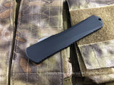 Heretic Knives Manticore X Black H031-2C Tanto Full Serrated Stonewash OTF Automatic USA