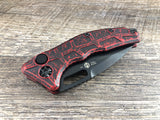 Heretic Knives H011-4A-BRKRD Martyr Breakthrough Red DLC Tanto Automatic USA