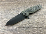 Hogue EX-02 Spear Green G-Mascus Flipper 34238