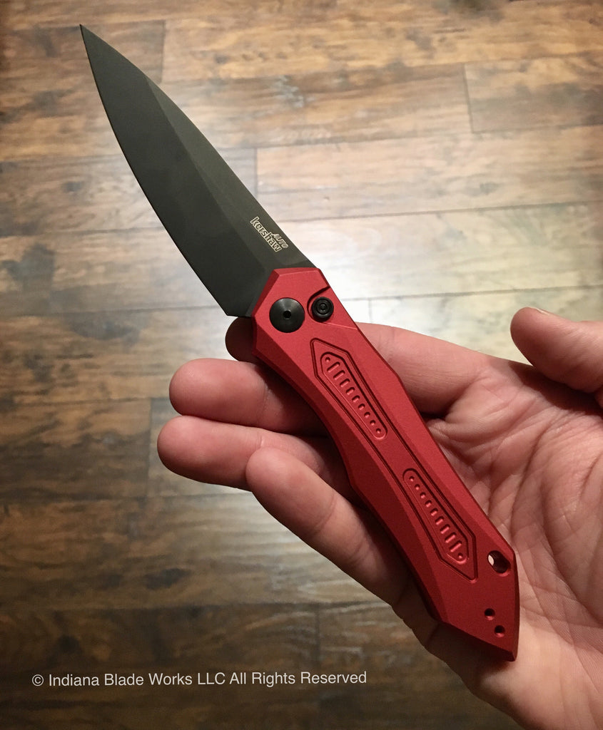 Kershaw Launch 6 Red Black 7800RDBLK Automatic USA