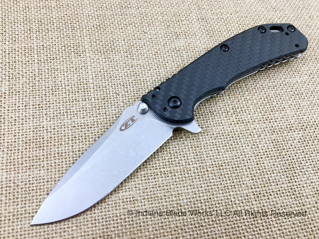 ZT Zero Tolerance 0566CF Hinderer Assisted USA