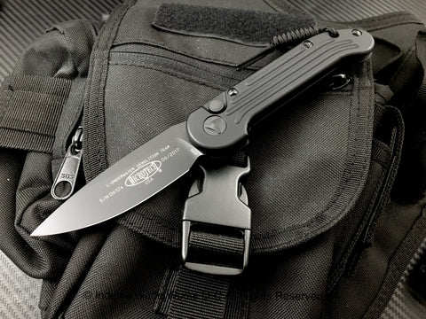 Microtech LUDT Black Tactical 135-1T Black Auto USA