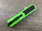 Titan OTF Dagger Green Automatic Knife
