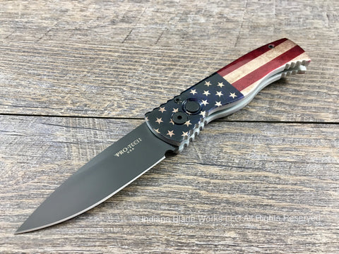 Pro-Tech Tactical Response 2 American Flag TR-2.40 154CM Automatic