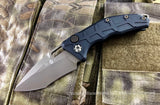 Heretic Knives H012-7B Martyr Bronze Tanto Recurve Automatic USA