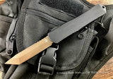 Heretic Knives Manticore X Black H031-7A Bronze Tanto OTF Automatic USA