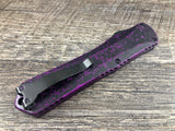 Heretic Knives Manticore X Breakthrough Purple DLC H032-6C-BRKPU Full Serrated Double Edge OTF Automatic USA