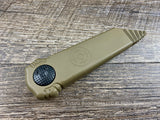 Paragon Knives by Asheville Steel Dredd Lock Flat Dark Earth FDE-CB-ST USA
