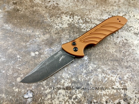 Kershaw Launch 5 Emerson 7600EBBW Earth Brown USA
