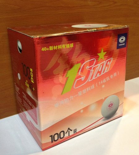 Yinhe 1 Star Ball with seam (box of 100)