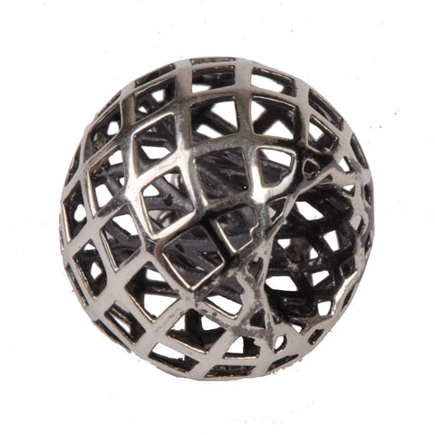 Novobeads Lattice, Silver