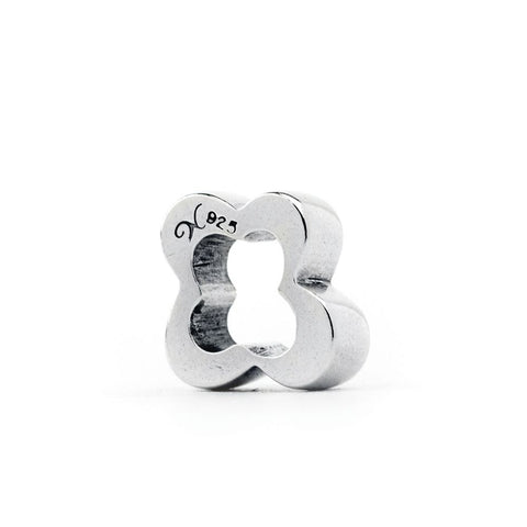 Novobeads Flower Spacer, Silver