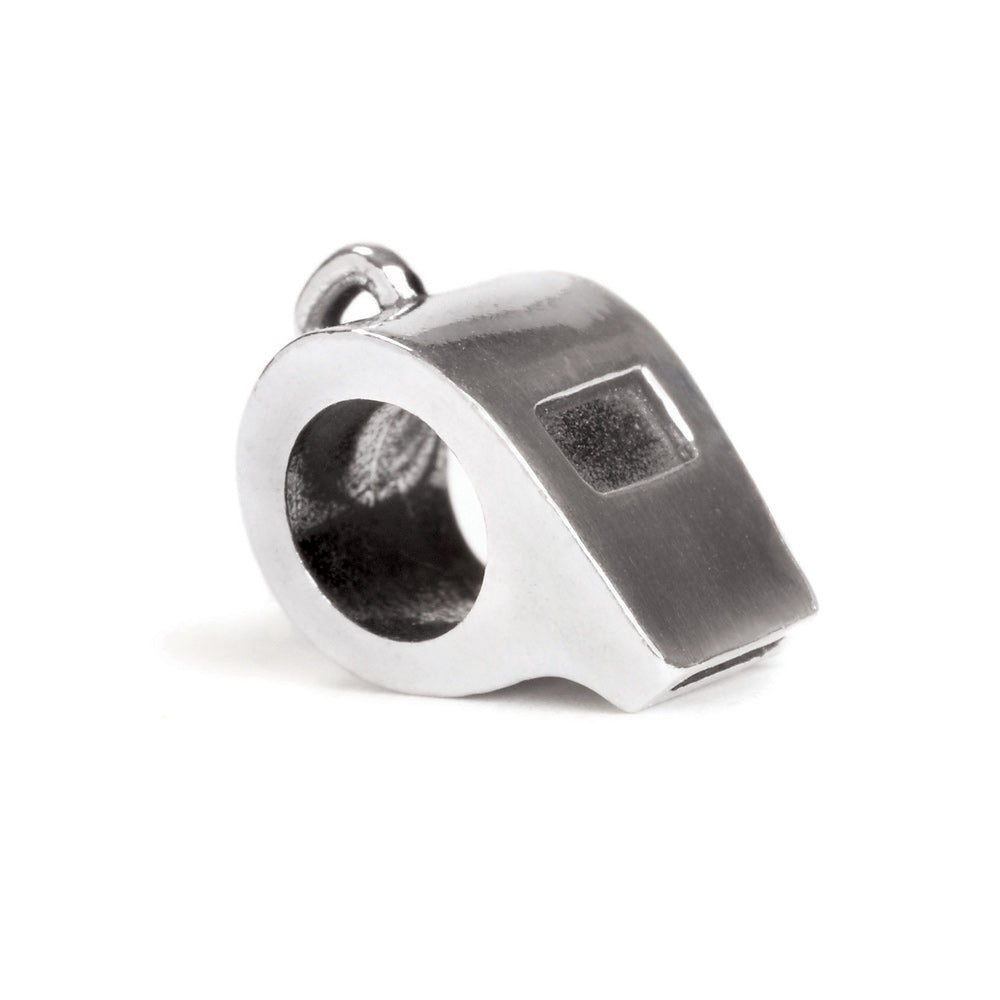 Novobeads Coach's Whistle, Silver