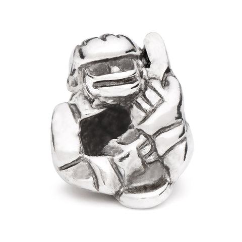 Novobeads Hockey Player, Silver