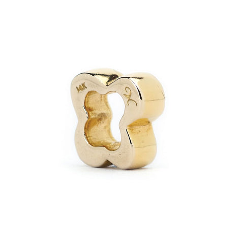 Novobeads Flower Spacer, 14K Gold
