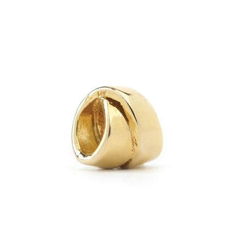 Novobeads Curly Q, 14K Gold