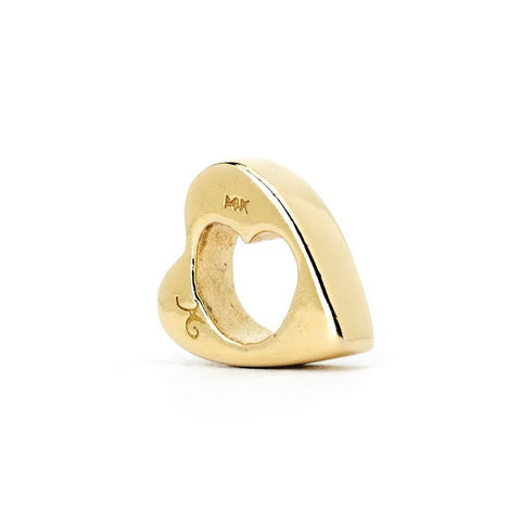 Novobeads Heart in Heart, 14K Gold