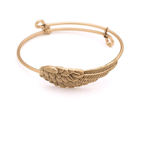 SOL Wing, Cufflet Antique Gold Color Finish
