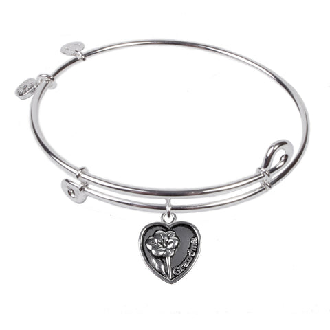 SOL Grandmother, Bangle Sterling Silver Plated