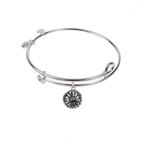 SOL Daisy, Bangle Sterling Silver Plated