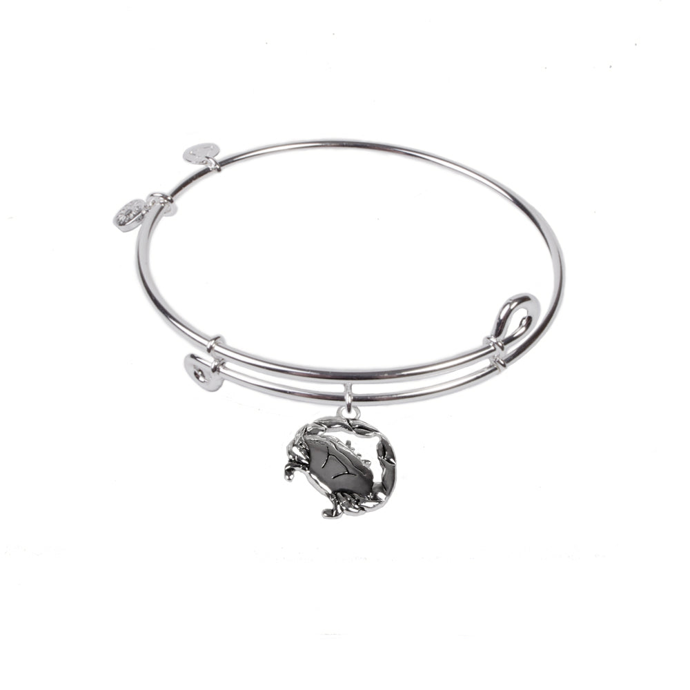 SOL Crab, Bangle Sterling Silver Plated