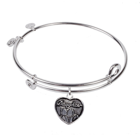 SOL Daughter, Bangle Sterling Silver Plated