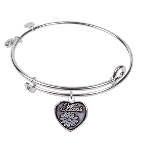 SOL Aunt, Bangle Sterling Silver Plated