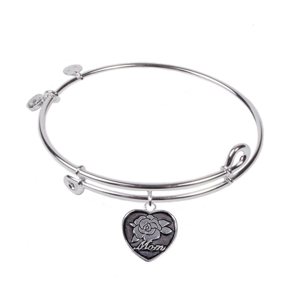 SOL Mom, Bangle Sterling Silver Plated