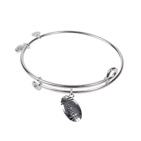 SOL Football, Bangle Sterling Silver Plated