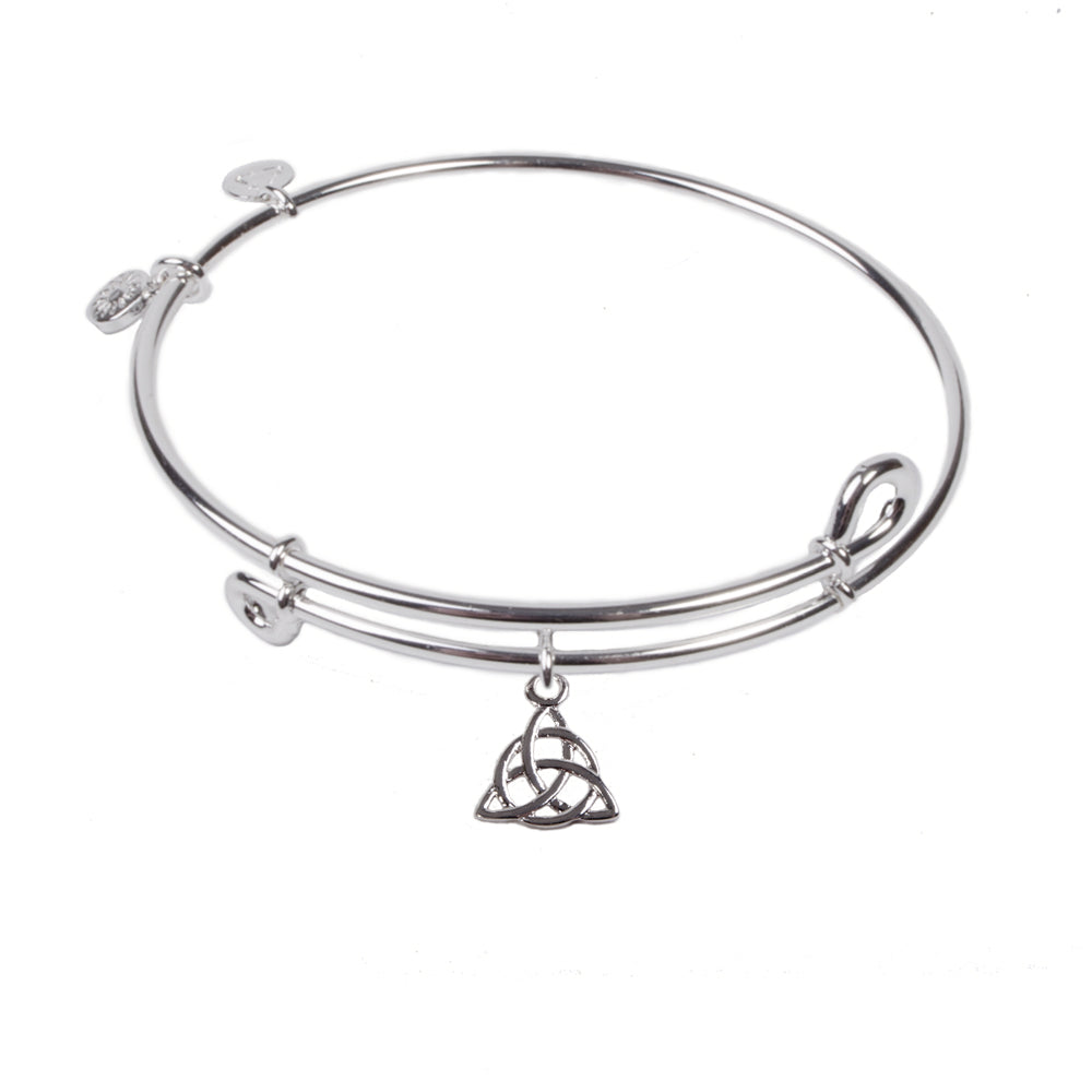 SOL Trinity, Bangle Sterling Silver Plated