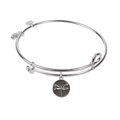 SOL Dragonfly, Bangle Sterling Silver Plated
