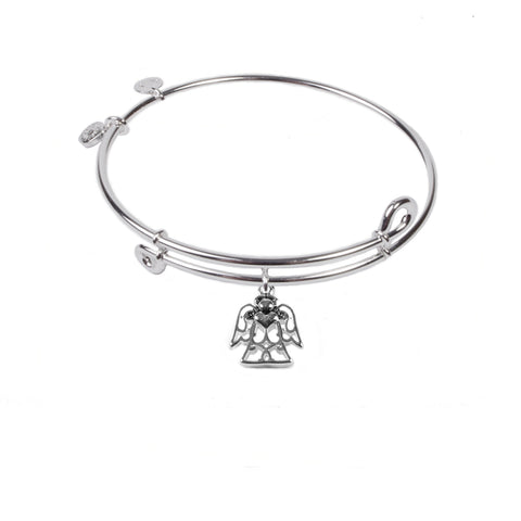 SOL Angel, Bangle Sterling Silver Plated