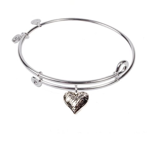SOL Wife, Bangle Sterling Silver Plated