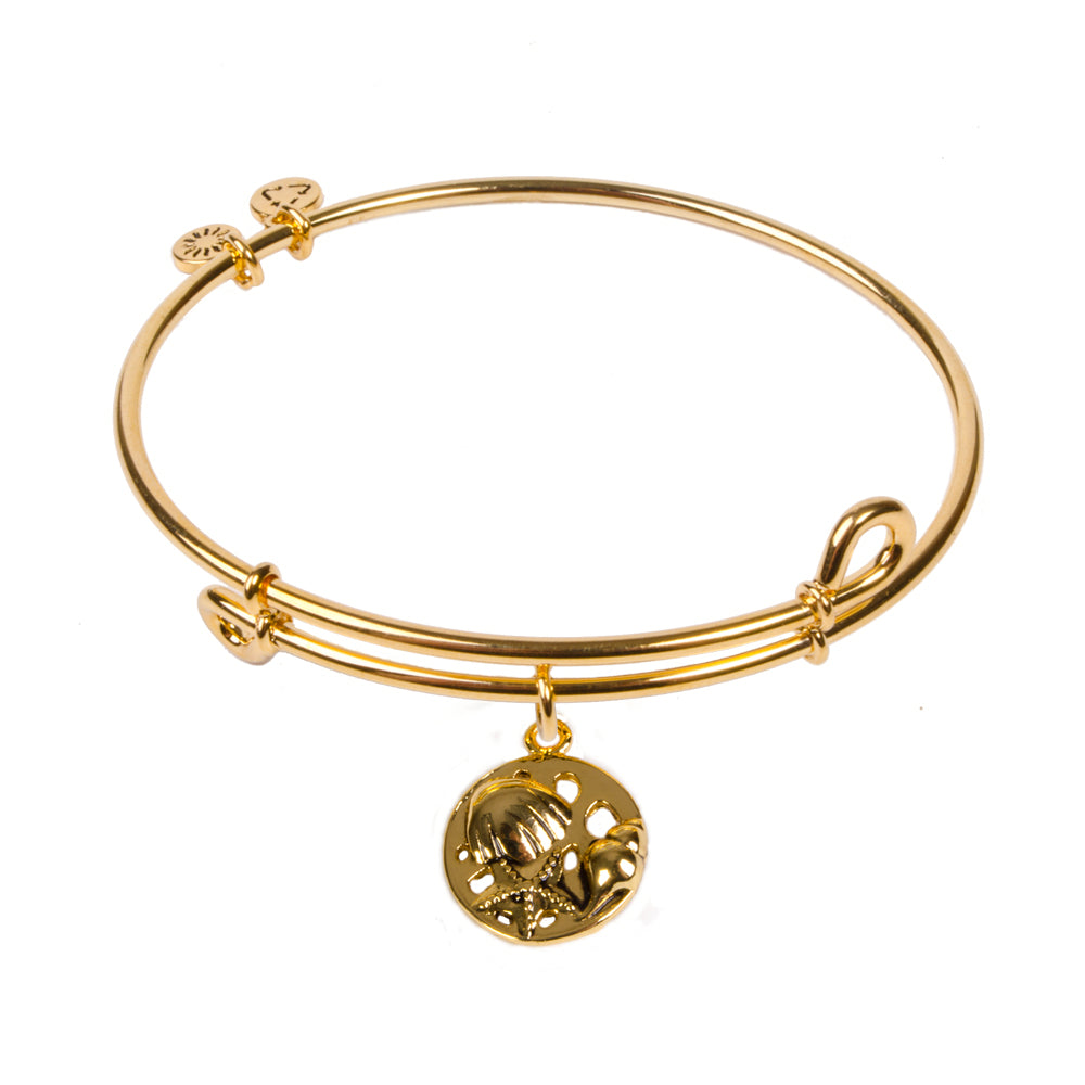 Novobeads Ocean, Bangle 18K Gold Plated