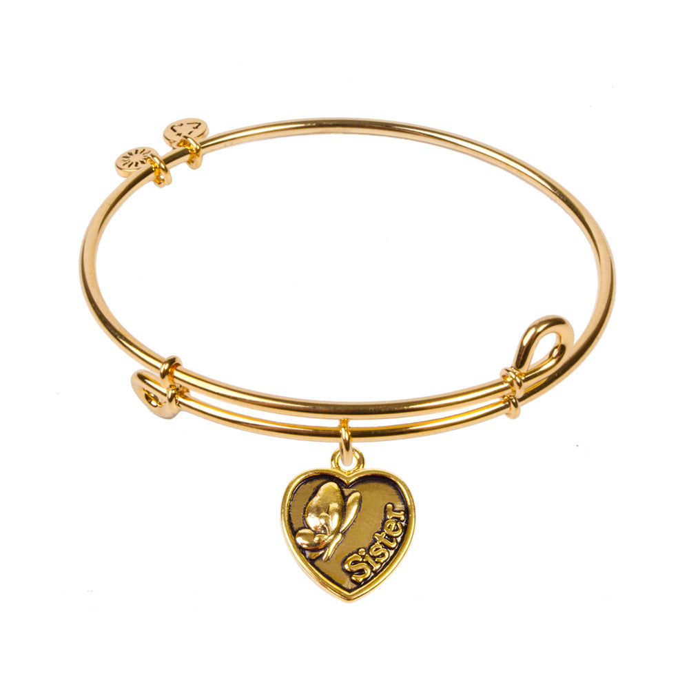 SOL Sister, Bangle 18K Gold Plated