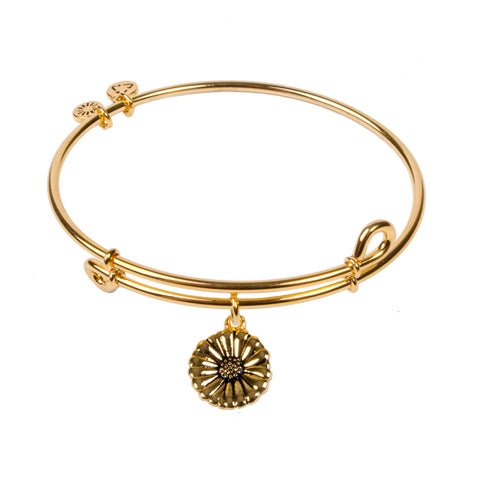 SOL Daisy, Bangle 18K Gold Plated