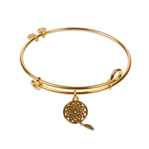 SOL Dream Catcher, Bangle 18K Gold Plated