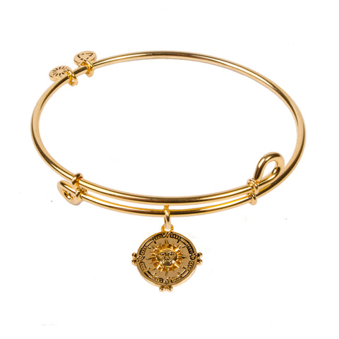 SOL Compass, Bangle 18K Gold Plated