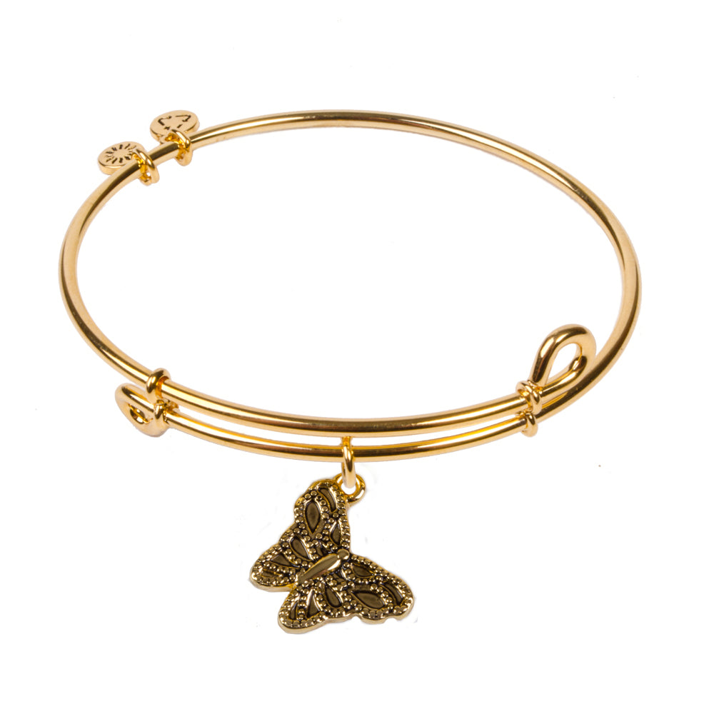 SOL Butterfly, Bangle 18K Gold Plated