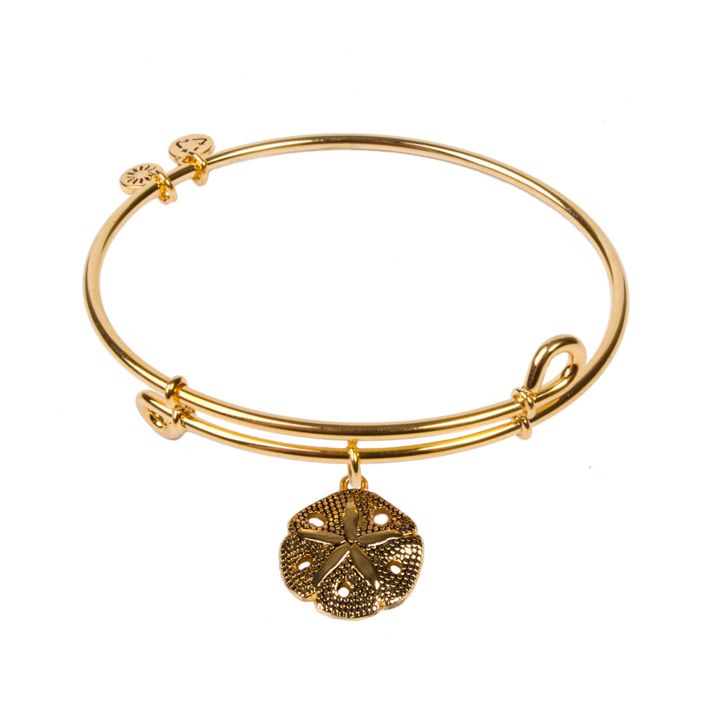 SOL Sand Dollar, Bangle 18K Gold Plated