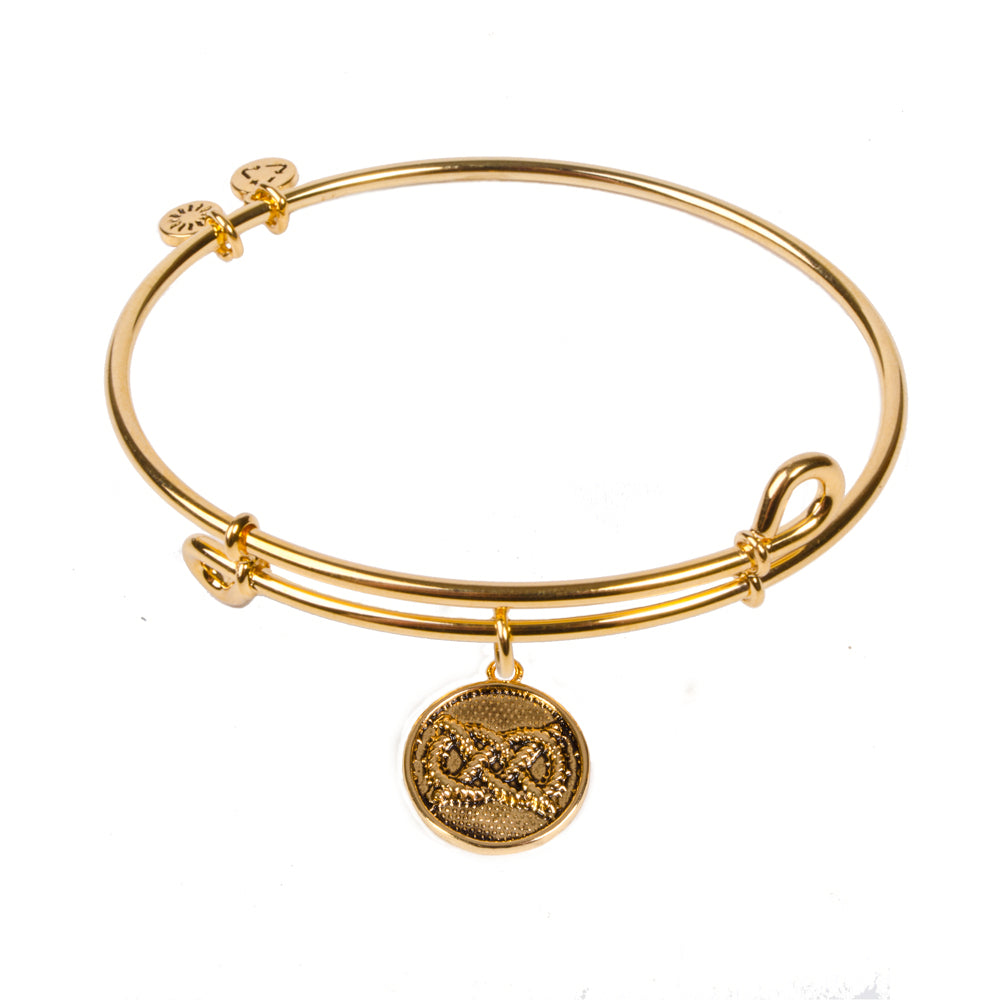 SOL Sailor's Knot, Bangle 18K Gold Plated