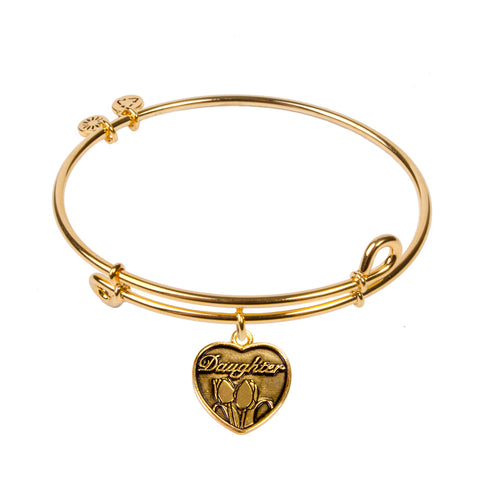 Novobeads Daughter, Bangle 18K Gold Plated