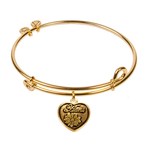 SOL Aunt, Bangle 18K Gold Plated