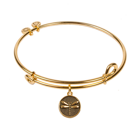 SOL Dragonfly, Bangle 18K Gold Plated