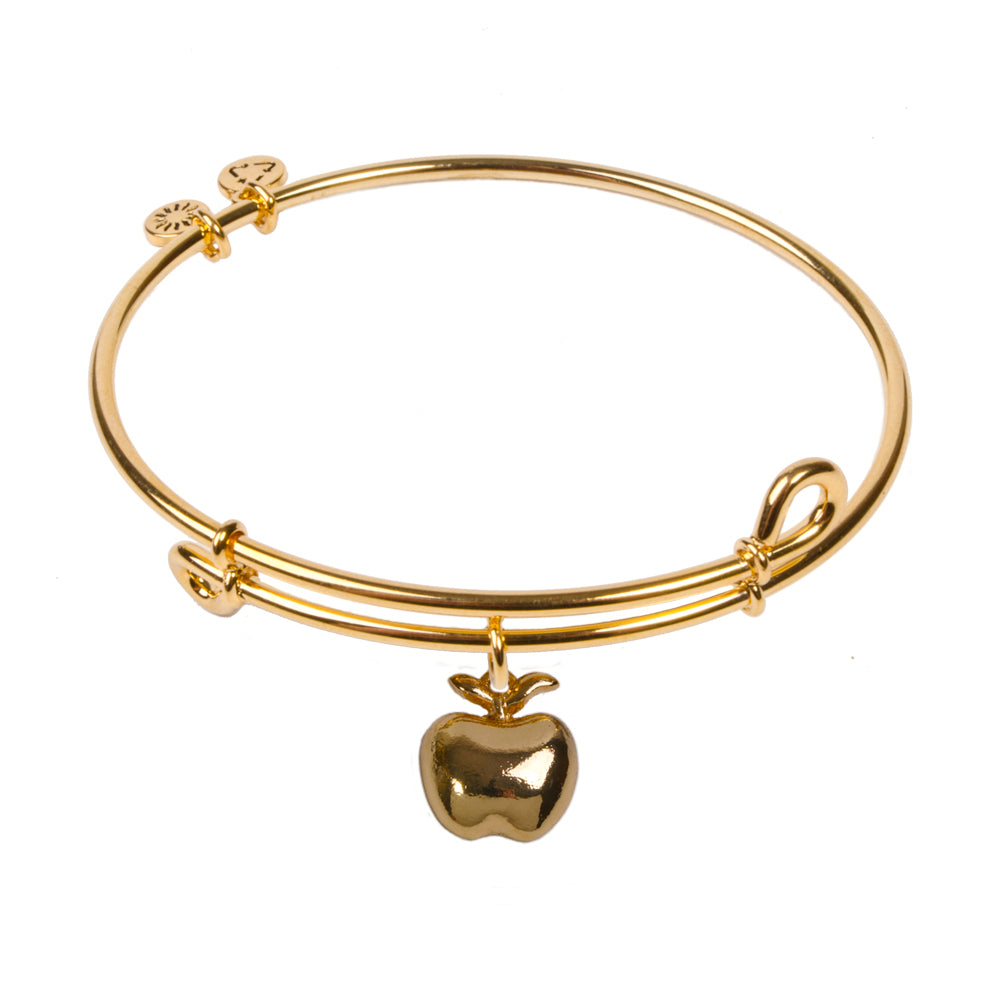 SOL Apple, Bangle 18K Gold Plated